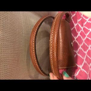 Longchamp Bags - Authentic Small Longchamp Logo Tote RARE